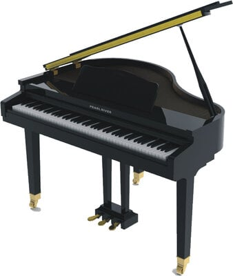Pearl River GP 1100 Black Digital Piano