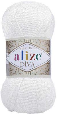 Alize Diva 55 White