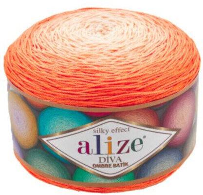 Alize Diva Ombre Batik 7413 Orange