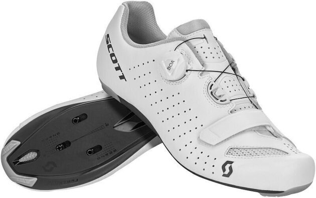 Scott Road Comp BOA White/Black 47