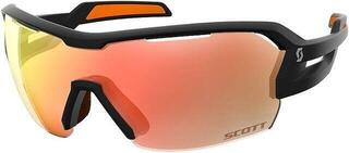 Scott Spur Black Matt/Orange/Red Chrome + Clear