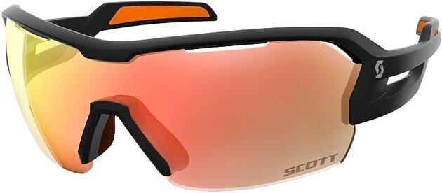 Scott Spur Black Matt/Orange/Red Chrome + Clear