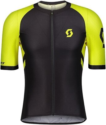 Scott Men's RC Premium Climber S/SL Black/Sulphur Yellow XXL