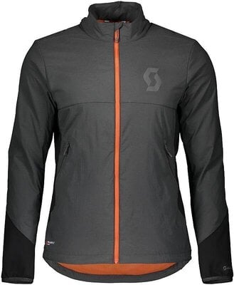 Scott Men's Trail Storm Alpha Jacket Dark Grey/Black XL