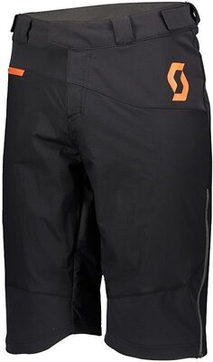Scott Men's Trail Storm Alpha Black/Orange Pumpkin XXL