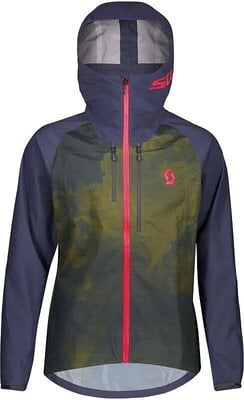 Scott Men's Trail Storm WP Jacket Blue Nights/Wine Red M
