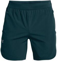 Under Armour Stretch Woven Mens Shorts Dark Cyan/Metallic Solder 2XL