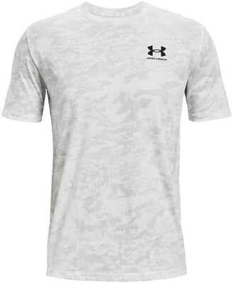 Under Armour ABC Camo Mens Short Sleeve White/Mod Gray XL