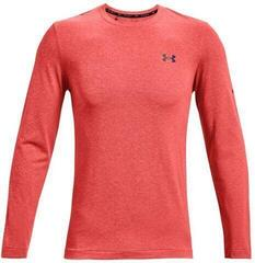 Under Armour Rush Seamless Mens Long Sleeve Venom Red/Black L