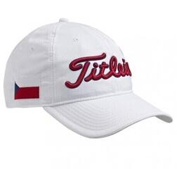 Titleist Czech Flag Cap White