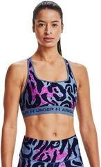 Under Armour Crossback Mid Print Womens Bra