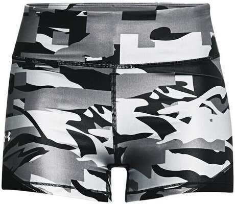 Under Armour Isochill Team Womens Shorts Black/White L