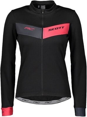 Scott Women's RC Warm L/SL Black/Azalea Pink L