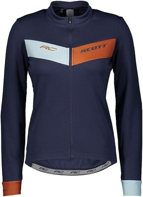 Scott Women's RC Warm L/SL Blue Nights/Brown Clay S