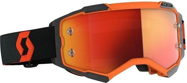 Scott Fury Orange/Black/Orange Chrome Works