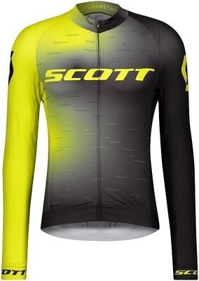 Scott Men's RC Pro L/SL Sulphur Yellow/Black XXL