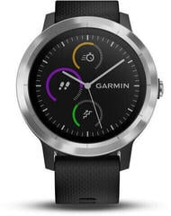 Garmin vívoactive 3 Black Silicone/Stainless Steel (B-Stock) #920817