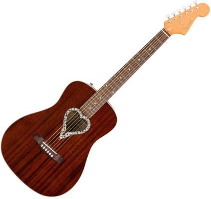 Fender Alkaline Trio Malibu Walnut FB Natural