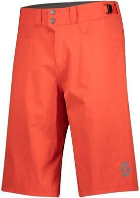 Scott Men's Trail Flow W/Pad Fiery Red XL