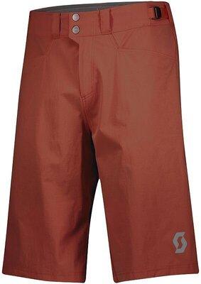 Scott Men's Trail Flow W/Pad Rust Red XL