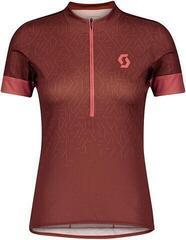Scott Women's Endurance 20 S/SL Rust Red/Brick Red XL
