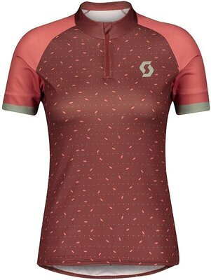 Scott Women's Endurance 30 S/SL Brick Red/Rust Red L