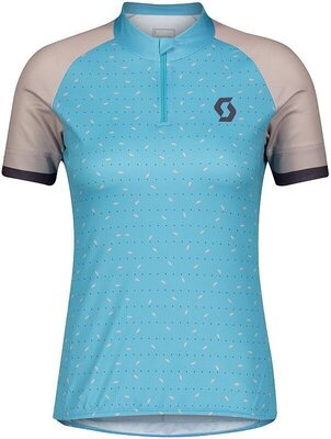 Scott Women's Endurance 30 S/SL Breeze Blue/Blush Pink XS