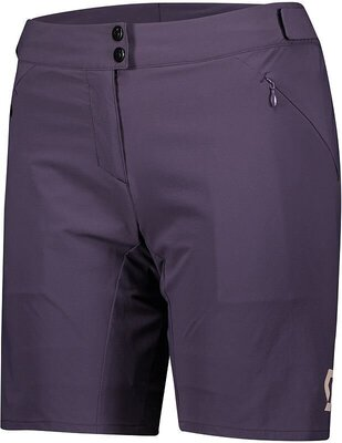 Scott Women's Endurance LS/Fit W/Pad Dark Purple M