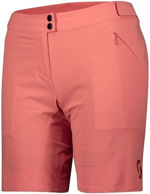Scott Women's Endurance LS/Fit W/Pad Brick Red S