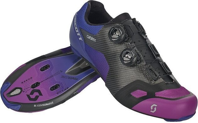 Scott Road RC SL Supersonic Edt Black/Drift Purple 42