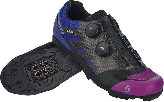 Scott MTB RC SL Supersonic Edt Black/Drift Purple 45
