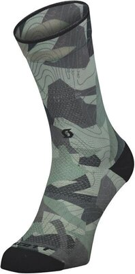 Scott Trail Camo Map Crew Dark Grey/Black 36-38