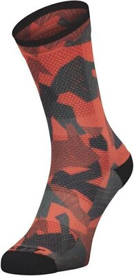 Scott Trail Camo Map Crew Fiery Red/Black 39-41