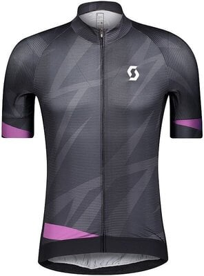 Scott Men's RC Supersonic Edt S/SL Black/Drift Purple XXL