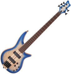 Jackson Pro Series Spectra Bass SBA V Caramelized JA Blue Burst