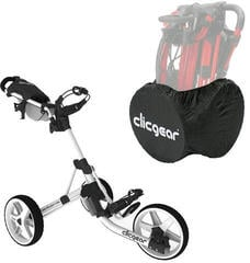Clicgear 3.5+ Golf Trolley Alb/Set