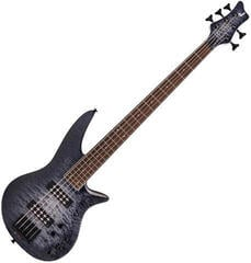 Jackson X Series Spectra Bass SBXQ V IL Transparent Black Burst