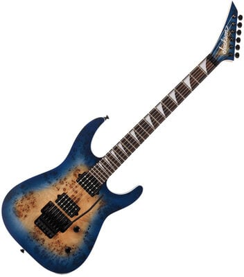Jackson MJ Series Dinky DKRP EB Transparent Blue Burst