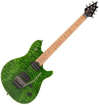 EVH Wolfgang Standard QM Baked MN Transparent Green