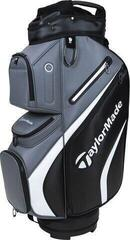 TaylorMade Deluxe Cart Bag Black/Grey