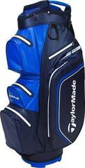 TaylorMade Storm Dry Cart Bag Navy/Blue
