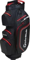 TaylorMade Storm Dry Cart Bag Black/Red