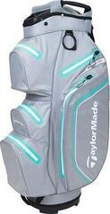 TaylorMade Storm Dry Cart Bag Gray