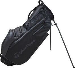 TaylorMade Flextech Waterproof Stand Bag Black/Charcoal