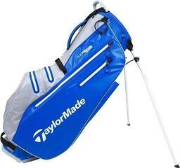 TaylorMade Flextech Waterproof Stand Bag Royal/Silver