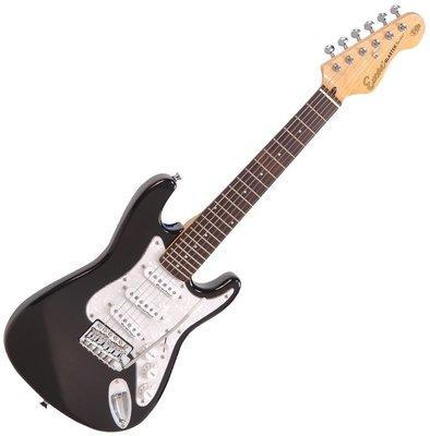 Encore E375BLK 3/4 Electric Guitar Gloss Black