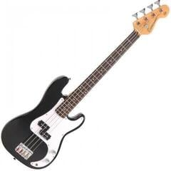 Encore E20BLK 7/8 Bass Guitar Gloss Black