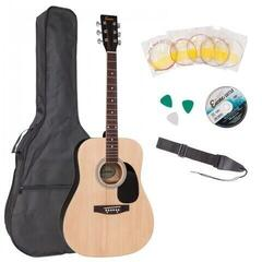 Encore EWP-100N Acoustic Guitar Outfit Natural