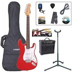 Encore EBP-E6RED Electric Guitar Outfit Red (B-Stock) #919307
