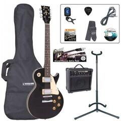 Encore EBP-E99BLK Electric Guitar Outfit Gloss Black (B-Stock) #930294 (Rozbaleno) #930294
